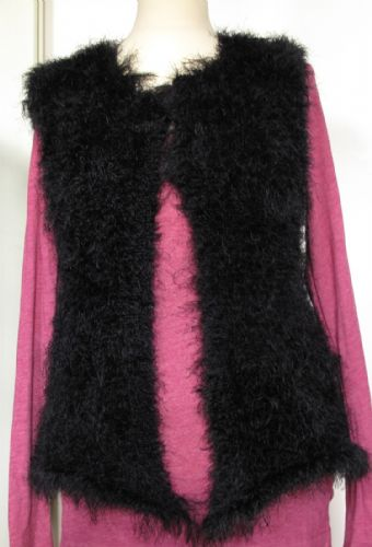 Shaggy gilet in Elle Sensual - Kit